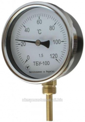 Thermometer bimetallic TBU-100