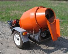 BMP concrete mixer - 500