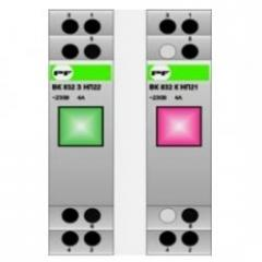 Модульная кнопка ВК 832 З (без фиксации) Зелёная