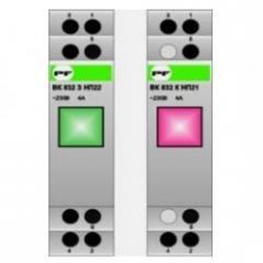 Green BK 832 Z 2NO/1NZ 2/1 modular button