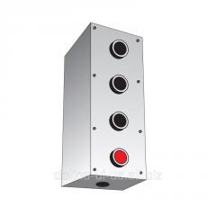 Пост кнопочний ПК-211/4 (4 пост.) IP-40 накл. мет.