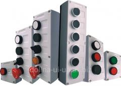 Пост кнопочний ПК-211/9 (16 пост.4Х4) IP-54 накл.