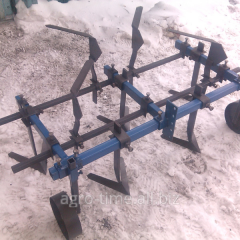 Hinged plows, qualitative plows for a minitractor