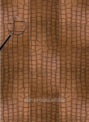 Leather floor of Alligator Gold floating