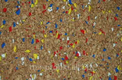 Pith wall-paper 0,5m*10m*2mm 4 Eco Amorim colors