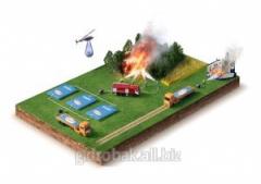 Пожарный резервуар  для воды 15м3