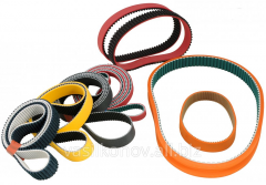 Belts are driving maple, gear, variatorny, flat,