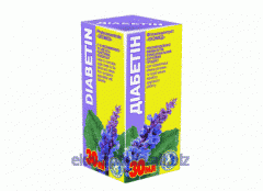 Extract of medicinal herbs Diabetin of 30 ml