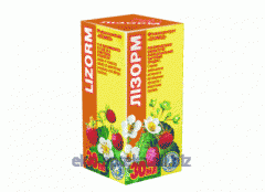 Extract of medicinal herbs Lizorm of 30 ml
