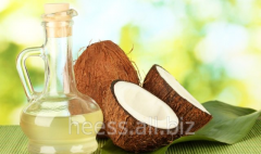 Coconut oil of cold extraction, extra virdzhin,