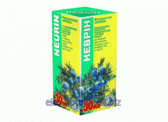 Extract of medicinal herbs Nevrin of 30 ml