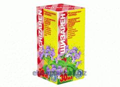 Extract of medicinal herbs Shchizaren of 30 ml