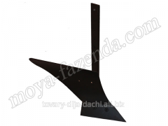 Plow for fastening on a motor-cultivator (KR-40