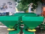 Spreader of the mineral MVU-1000 fertilizers.