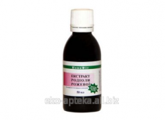 Extract of the Rhodiola of pink, 50 ml