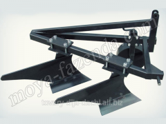 Plow two-case for a minitractor (KR-43 code)