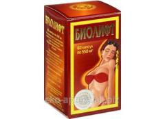 Drug of Biolift of 60 capsules x 550 mg