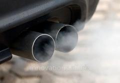 Equipamento para a análise dos gáses usados