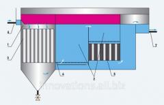 Sistemas de purificação de águas de esgoto