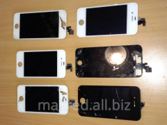 We buy screens from (second-hand) iPhone 4, 5, 6