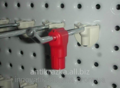 STOP LOCK, LOK STOP THE GOODS CLAMP ON THE HOOK