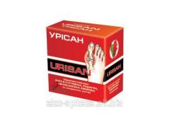 Drug at gout Urisan of 60 capsules