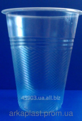 Glass kvass disposable plastic