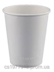 Glass of paper 180 ml white