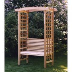 Pergolas, decorative protections, wooden decor