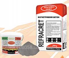 Concrete fire-resistant heat-resistan