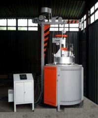 Electric furnace mine tsementatsionny muffle