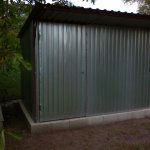 Mini-hangars from an easy metalwork to order,
