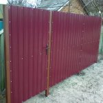 Fences from a professional leaf to order,