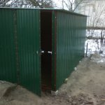 Garages metal folding to order, Cherkasy, Ukraine,