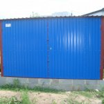Garages galvanized to order, Cherkasy, Ukraine,