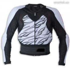 Летняя защитная куртка на сетке для мотоциклистов