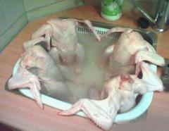 Мясо бройлеров фасованное продам в украине и