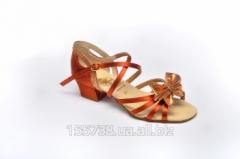 Dances footwear, for girls, model 134