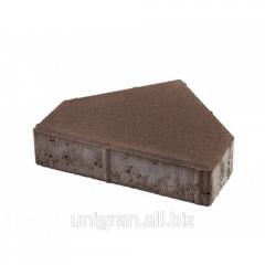 Tile for the sidewalk - Pyramid gray standard