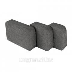 Tile for the sidewalk - Tsarskoye Selo 4 cm gray