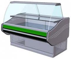 Refrigerating appliances for shops and