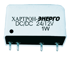 Converter of tension DC/DC 24/12V 1W