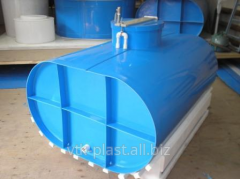 Tank for water from polypropylene