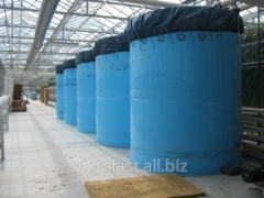 Plastic tank for storage