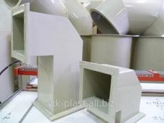 Воздуховод пластиковый вентиляционный