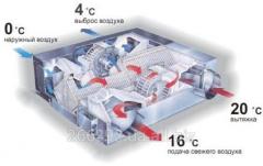 The heatpreserving ventilation of Mitsubishi