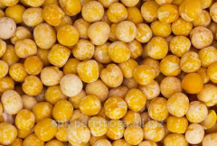 Peas yellow at contractual price