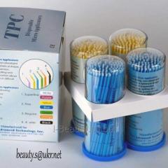 Микробраши для снятия и коррекции ресниц  TPC,100