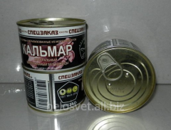 "Squid tinned ""Spetszakaz"