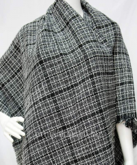 Chanel's boucle of Y30104 black background